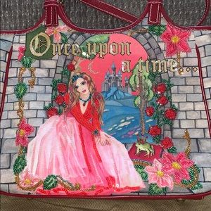 "Isabella Fiore ""Once Upon a Time"" princess bag"